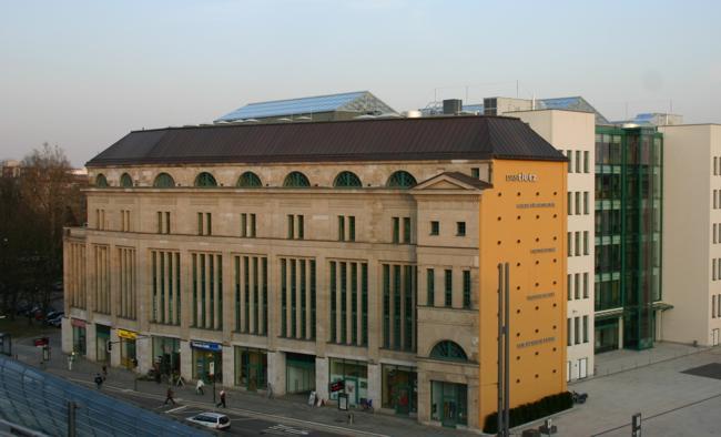 Vom Warenhaus zum Kulturzentrum